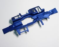 Image 2 for Traxxas Revo Chassis (3mm 6061 T-6 aluminum) (anodized blue)