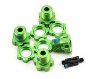 Traxxas 17mm Splined Wheel Hub Set (Green) (4) | relatedproducts