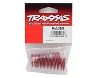 Image 2 for Traxxas GTR Shock Spring (Red) (2) (2.9 Rate White)