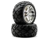 Traxxas Anaconda Tires w/All-Star Front Wheels (2) (Jato) (Chrome)   relatedproducts