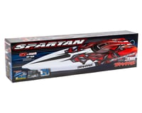 Image 4 for Traxxas Spartan High Performance Race Boat RTR (Red)