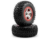 Traxxas 2.2/3.0 Tire w/SCT Front Wheel (2) (Satin Chrome) | relatedproducts