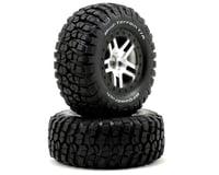 Image 1 for Traxxas BFGoodrich Mud TA Front Tire (2) (Satin Chrome) (Standard)
