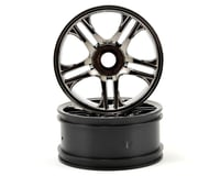 Image 1 for Traxxas Front Wheels (2) (Black Chrome)