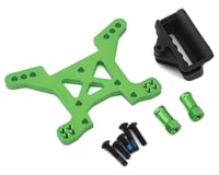 Traxxas Aluminum Rustler 4X4 Front Shock Tower (Green) | relatedproducts