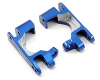 Image 1 for Traxxas Aluminum Caster Block Set (Blue) (2)