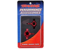 Image 2 for Traxxas Aluminum Steering Block Set (Red) (2)
