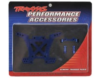 Image 2 for Traxxas Aluminum Rear Shock Tower (Blue)