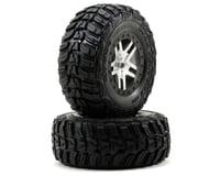 Traxxas Kumho Venture MT Rear Tires (2) (Satin Chrome) (S1)
