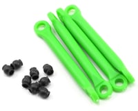 Image 1 for Traxxas Molded Composite Push Rod Set (Green) (4)