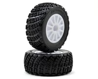 Traxxas BFGoodrich Rally Tire w/Rally Wheel (2) (White) (Standard) | alsopurchased