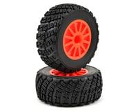 Image 1 for Traxxas BFGoodrich Rally Tire w/Rally Wheel (2) (Orange) (Standard)