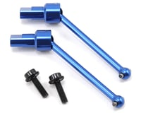Traxxas LaTrax Aluminum Front/Rear Driveshaft (2) (Blue) | alsopurchased