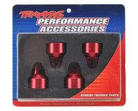 Traxxas X-Maxx Aluminum GTX Shock Caps (Red) (4)   relatedproducts