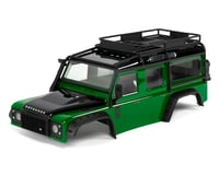 Traxxas TRX-4 Land Rover Defender Pre-Painted Body w/Exocage (Green)