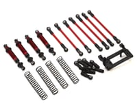 Traxxas TRX-4 Complete Long Arm Lift Kit (Red) | relatedproducts