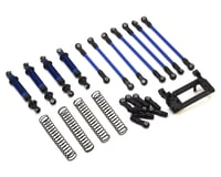 Traxxas TRX-4 Complete Long Arm Lift Kit (Blue)