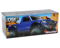 Image 7 for Traxxas TRX-4 Sport 1/10 Scale Trail Rock Crawler (Blue)