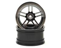 "Traxxas 4-Tec 2.0 1.9"" X-Tra Wide Rear Split Spoke Wheels (Black Chrome) (2)"