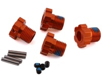 Traxxas Maxx 17mm Splined Wheel Hub Hex (Orange) (4)