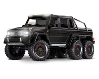 Traxxas TRX-6 1/10 6x6 Trail Crawler Truck w/Mercedes-Benz G 63 AMG Body (Black)