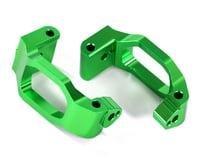 Traxxas Maxx Aluminum Caster Blocks (Green)