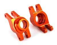 Traxxas Maxx Aluminum Hub Carriers (Orange)
