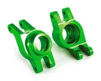 Traxxas Maxx Aluminum Hub Carriers (Green)