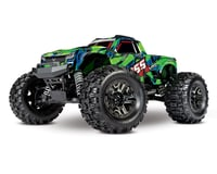 Traxxas Hoss 4X4 VXL 1/10 Scale Monster Truck (Green)