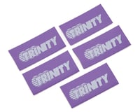 Trinity Logo Shrink Wrap/Cable Managment (5) (Purple)