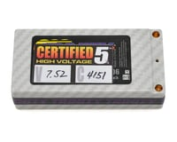"Team Trinity ""Certified"" Hi-Voltage Shorty 2S 100C Hardcase LiPo (7.4V/4000mAh)"