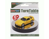 Trumpeter Scale Models 5  Battery Operated Round Mirrored Turntable