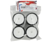 Image 2 for Team Sorex 12mm Hex Pre-Mounted Rubber Racing Tires (White) (4) (32R)
