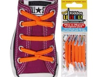 U-Lace Kiddos ULace Sneaker Customizing Laces 6 pack (For 1 shoe) (Neon Orange)