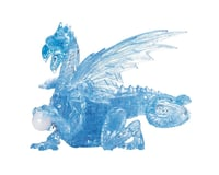 University Games Corp 3D Crystal Puzzle Blue Dragon
