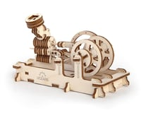 UGears Pneumatic Engine Mechanical Wooden 3D Model