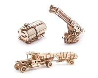 UGears Tanker, Fire Ladder & Chassis Additions (for Truck UGM-11) | alsopurchased