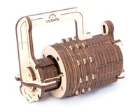UGears Combination Lock Wooden 3D Model