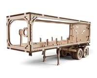 UGears Heavy Boy Trailer Wooden 3D Model (for Truck VM-02)