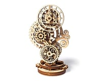 UGears Steampunk Clock Wooden 3D Model Kit
