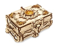 UGears Antique Amber Box Wooden 3D Model