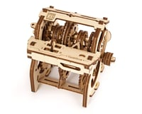 UGears STEM LAB Gearbox Wooden 3D Model