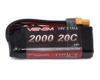 Venom Power 2S LiPo 20C Mini Battery Pack w/UNI 2.0 Connector (7.4V/2000mAh) | relatedproducts
