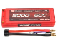 Venom Power 2S LiPo 60C Battery Pack w/Universal Connector (7.4V/5000mAh) | relatedproducts