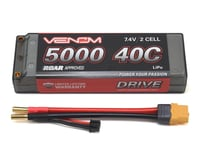 Venom Power 2S 40C Hard Case LiPo Battery w/UNI 2.0 Connector (7.4V/5000mAh) | relatedproducts