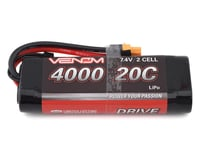Venom Power 2S 20C Hard Case LiPo Battery w/UNI 2.0 Connector (7.4V/4000mAh)