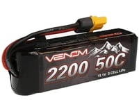 Venom Power 50C 3S 2200mAh 11.1V Rock Crawler LiPo Batt UNI