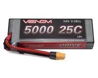 Venom Power 2S LiPo 25C Hardcase Battery Pack w/UNI 2.0 Connector (7.4V/5000mAh)