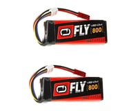 Venom Power 11.1V 800mAh 3S 30C LiPo Battery: JST (2)