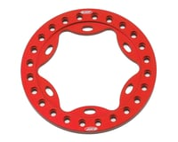 "Vanquish Products OMF 1.9"" Scallop Beadlock Ring (Red)"